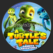 turtle u0027s tale sammy u0027s adventures dvd label dvd covers u0026 labels
