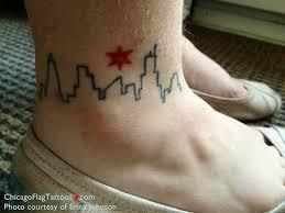 erica johnson chicago flag tattoos