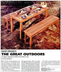 japanese garden furniture outdoor table and bench plans japanese