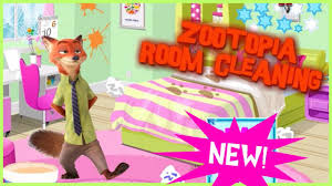 zootopia room cleaning video episode w fun nick wild games online