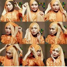 tutorial jilbab dua jilbab 30 cara memakai jilbab pashmina modern dan simple fashion muslim