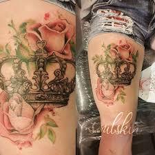 imagenes rosas tatoo corona con rosas tatoo pinterest coronas rosas y tatuajes