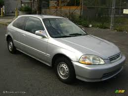 1996 honda civic hatchback cx 1996 vogue silver metallic honda civic dx hatchback 16387483
