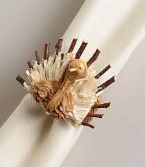 turkey napkin ring gobble gobble lovely turkey decorations b lovely events