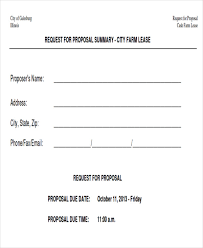 sample lease proposal letter 9 examples in pdf word