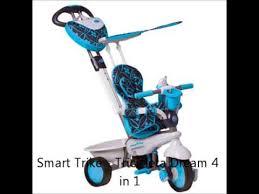 Smart Trike Recliner Smart Trike Tricicleta Dream 4 In 1 La Idealbebe Ro Youtube