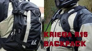kriega r15 kriega r15 backpack tested