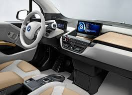 bmw dashboard funny looking and freaky fast hands on with the bmw i3 all