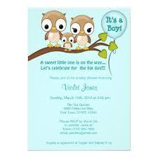 Owl Baby Shower Boy - personalized owl baby invitations custominvitations4u com