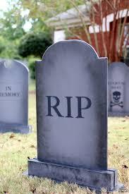 diy halloween lawn gravestones the house of wood