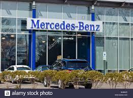 dealership usa mercedes car dealership entrance usa stock photo royalty