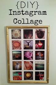 repurposed life designs diy instagram collage