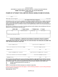 Pdf Power Of Attorney Form by Florida Power Of Attorney Form Free Templates In Pdf Word