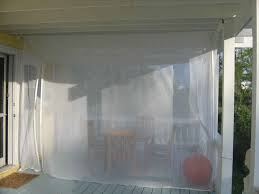 Patio Enclosure Kit by Curtains Using Beautiful Mosquito Netting Curtains For Cozy Home