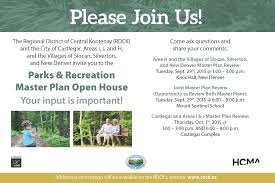 Open House Invitation Parks And Recreation Master Plan U2013 Open House Invitation Village
