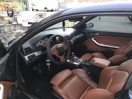 Bmw M3 E46 Interior 2006 Bmw E46 M3 Base 2 Door Coupe Smg Transmission Cinnamon Interior