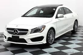 used amg mercedes 2016 used mercedes certified cla250 4matic amg sport awd