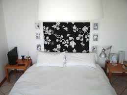 black and white bedroom wallpaper decor ideasdecor ideas pretty black white floral pattern bedroom wall art as unique french
