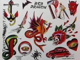 tyson arndt red dragon flash sheet 20 00