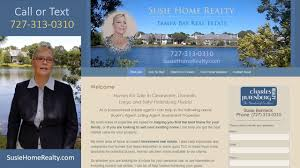 real estate clearwater largo st pete florida susie home realty