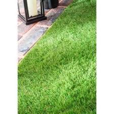 Grass Area Rug Green Grass Shag Indoor Outdoor Area Rug 8 X 10