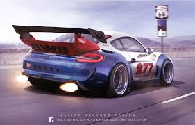 Porsche Cayman Gt4 Gets The Digital Rwb Treatment