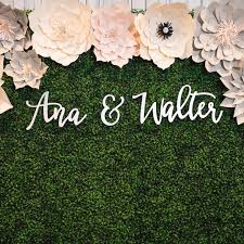 wedding backdrop sign 61 best flower walls images on neon signs backdrop