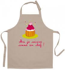 cuisinez comme un chef tablier enfant je cuisine comme un chef