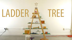 ladder christmas tree youtube