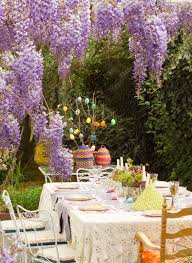 easter decorations for the garden purple wisteria flowers