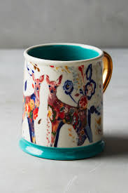 Peacock Mug Mooreland Mug Anthropologie