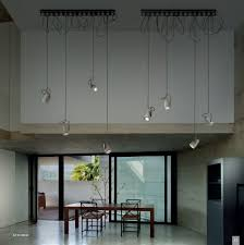 concrete ceiling lighting pendant lamp contemporary concrete led forata sp r 300 b