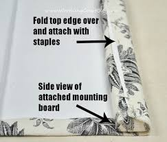 No Sew Roman Shades Instructions - how to make no sew faux roman shades worthing court
