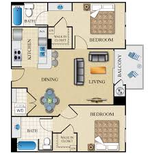 Two Bedroom Apartments The Visconti Availability Floor Plans U0026 Pricing