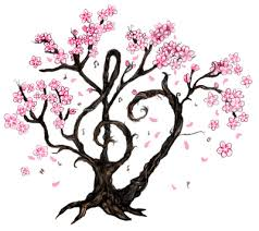 japanese cherry blossom tree clipart clipartxtras