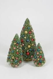 retro christmas decorations tagged