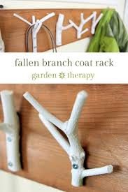 how to use tree branches as home decor