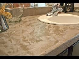Resurface Vanity Top Easy Cheap Diy Concrete Countertops Youtube