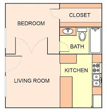 a floor plan 1 bedroom studio apartment floor plan senior apartment floor plan