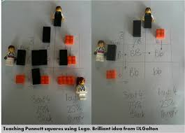 teaching punnett squares using lego brilliant idea molding the