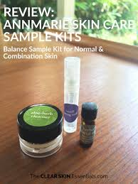 Epionce Skin Care Reviews Review Annmarie Skin Care Sample Kits The Clear Skin Essentials