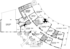 interesting floor plans in line sante fe style 81409w architectural designs house plans