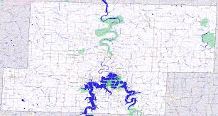 Map Missouri Bridgehunter Com Hickory County Missouri