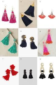 hm earrings trend nine of the best tassel earrings to try this season