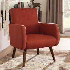 Accent Chairs With Arms by Chair Kendall Orange Accent Chair Living Spaces Chairs With Arms