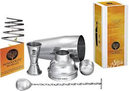 cocktail recipes book professional cocktail shaker bar set by mixologist world