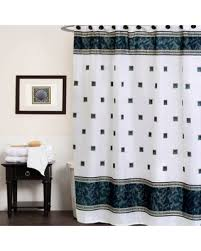 Seashell Fabric Shower Curtain Amazing Deal On Seashell Patterned Fabric Shower Curtain With