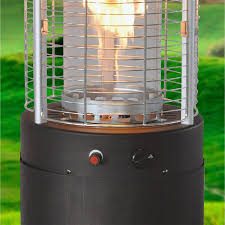 Bronze Patio Heater by Bond Manufacturing 68149 Rapid Induction Heater In Brushed Bronze