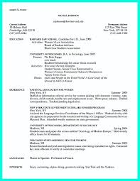 Resume With Community Service Making Simple College Golf Resume With Basic But Effective Information