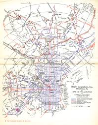 Historic Route 66 Map by Historic Streetcar Maps Theodore Ditsek